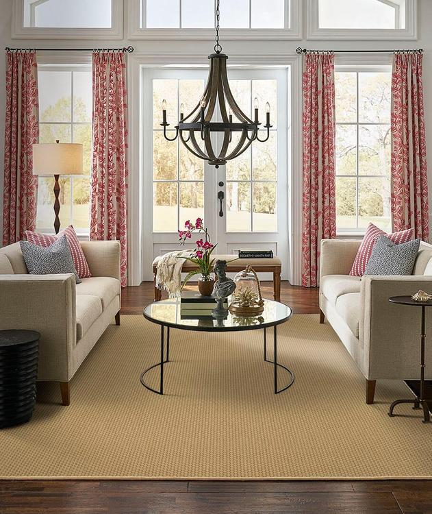 Karastan Design Concepts Woolcraft Nouveau Windsor Tan