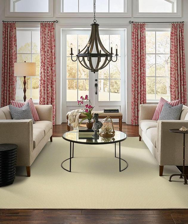 Karastan Design Concepts Woolcraft Nouveau Whitewash