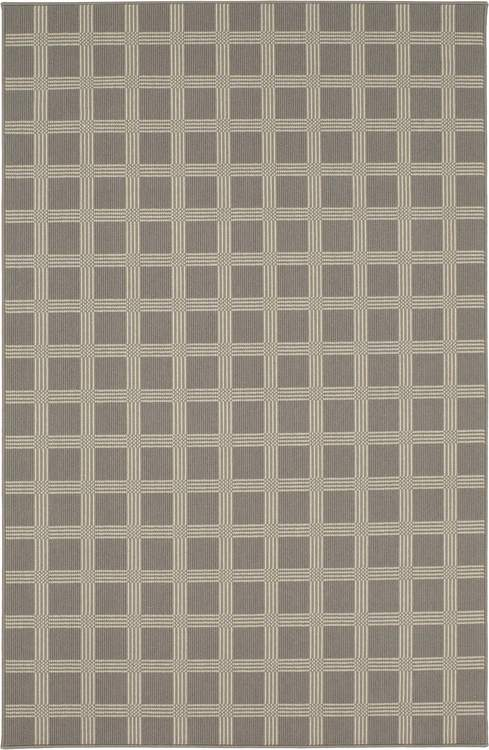 Karastan Design Concepts Woolston Plaid Worldly Grey