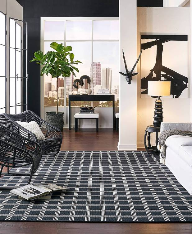 Karastan Design Concepts Woolston Plaid Domino