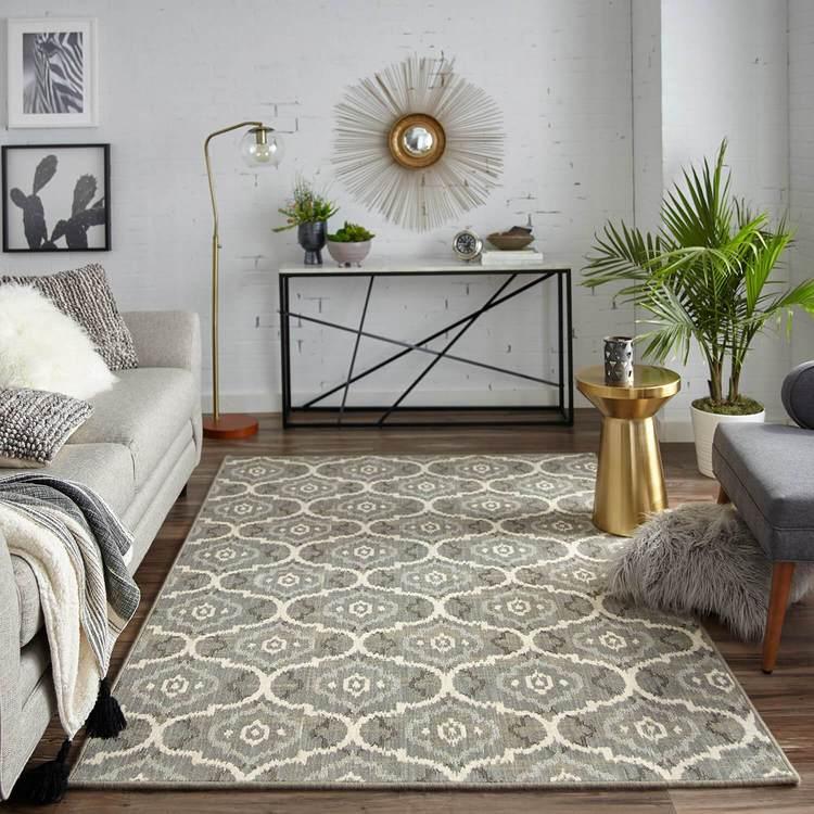 Karastan Design Concepts Simpatico Gala Silver