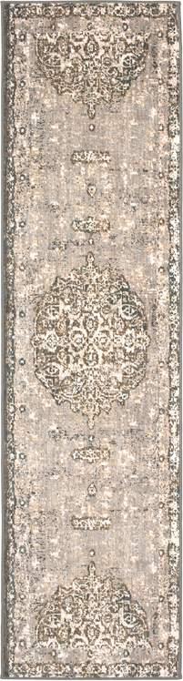 Karastan Titanium Floret Ivory By Patina Vie