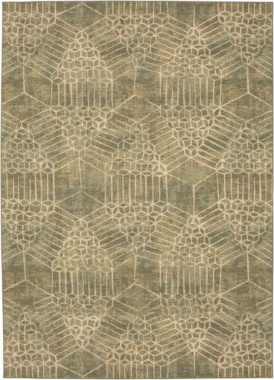 Karastan Kismet Ciranda Seaglass By Virginia Langley