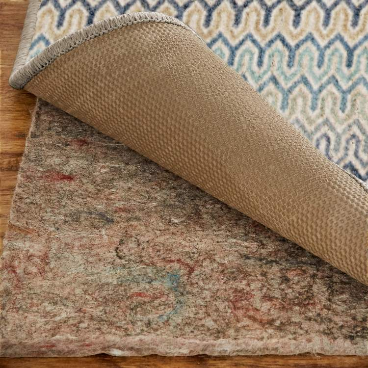 Savvy Trinity Brown  Blue Area Rug