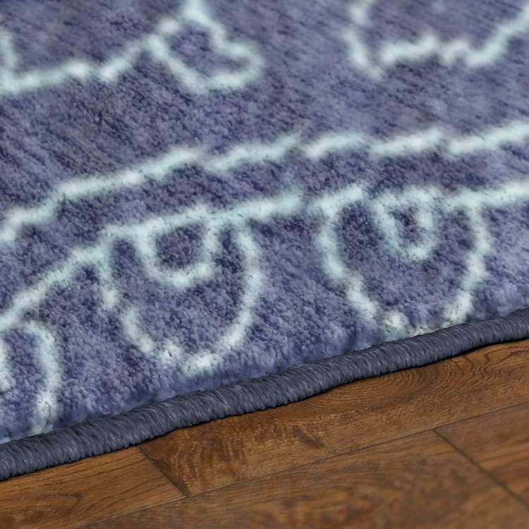Savvy Columbia Blue Area Rug