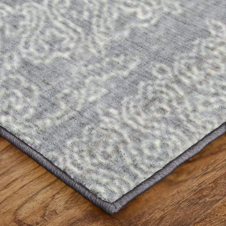 Savvy Harper Gray  Brown Area Rug