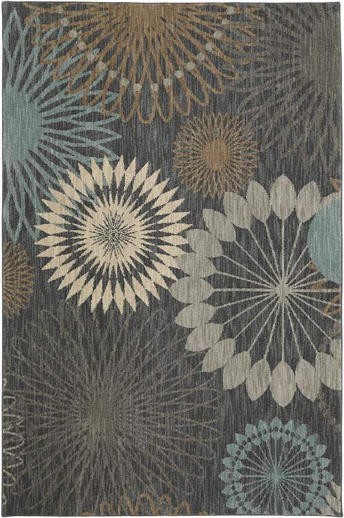 Sancerre Sonnet Abyss Gray Area Rug