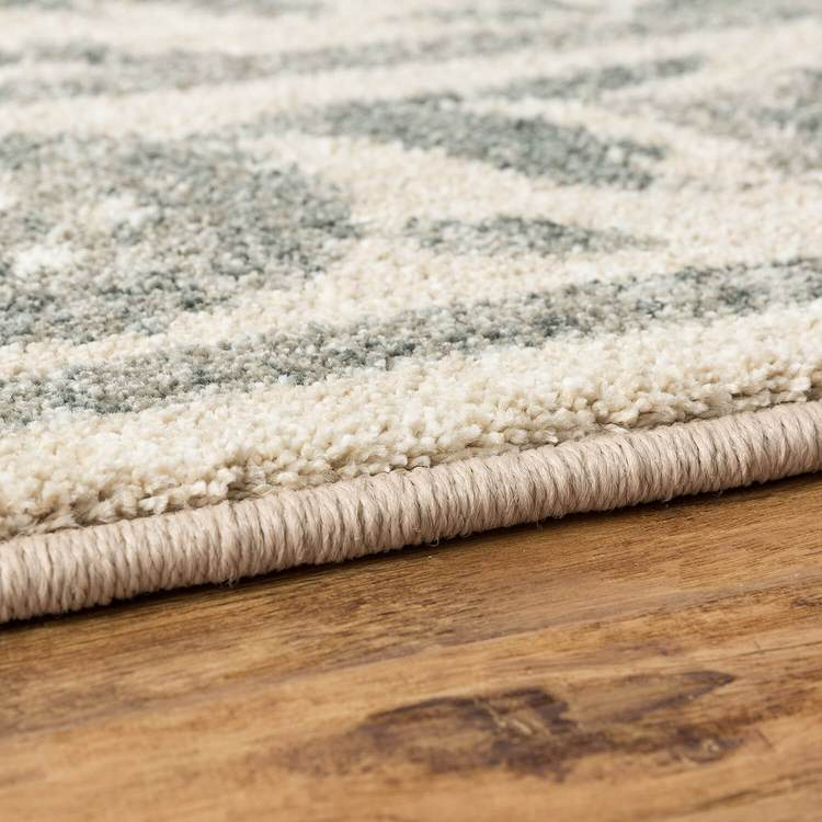 Sancerre Liliana White  Gray Area Rug