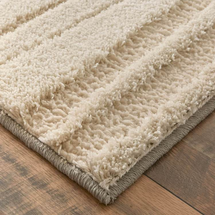 Brizo Broadmoor Brown  Blue Area Rug