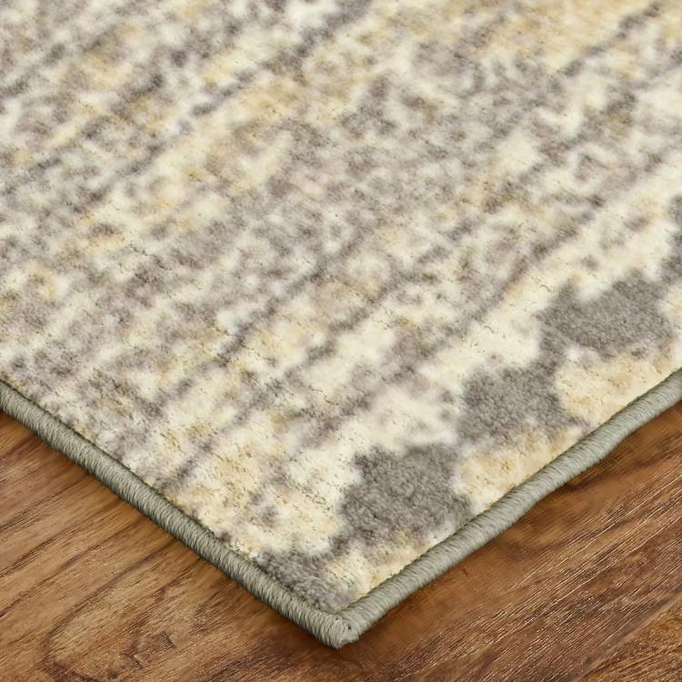 Brizo Woodland Brown  White Area Rug
