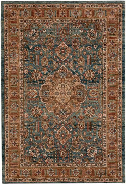 Karastan Spice Market Aksum Aquamarine