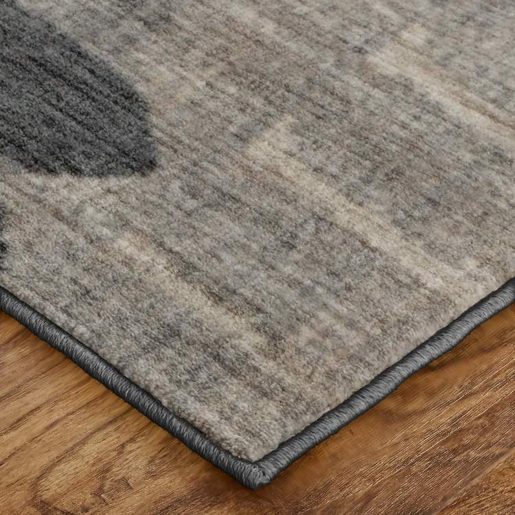 Dominica Canopus Gray  Blue Area Rug