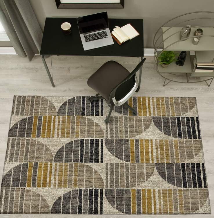 Dominica Polaris Oyster Area Rug