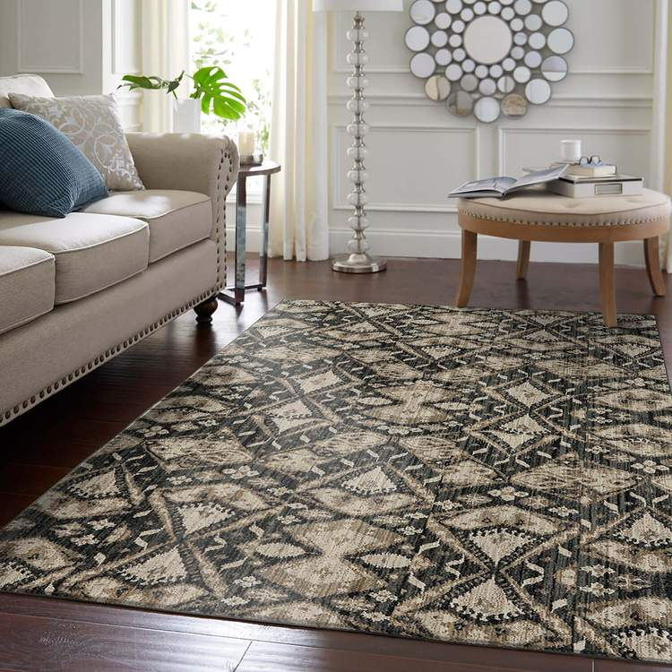 Dominica Altair Gray Area Rug