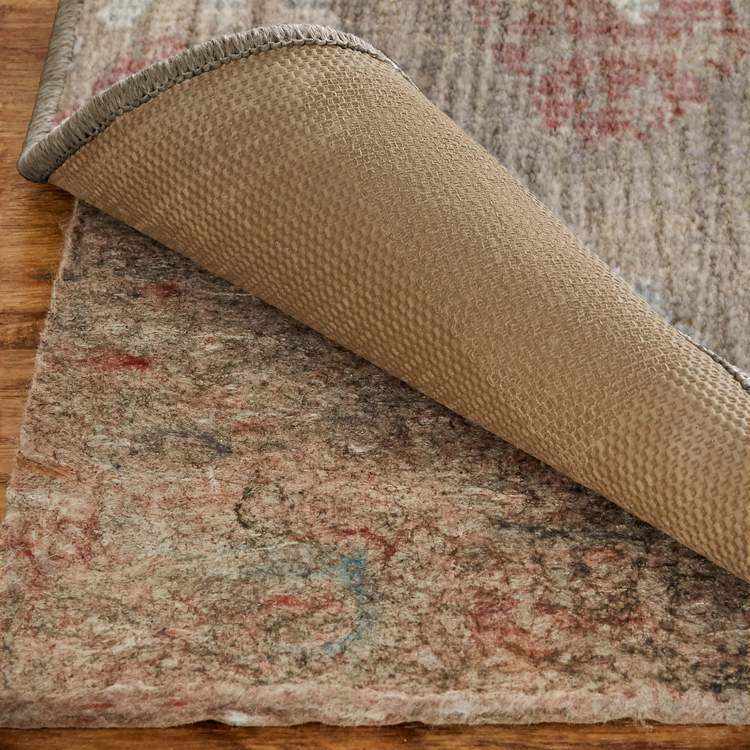 Dominica Barnard Gray  Orange Area Rug