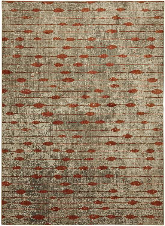 Dominica Dolce Ginger By Virginia Langley Area Rug