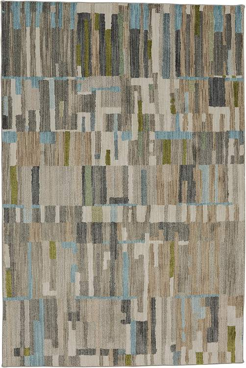 Seychelles Vallarta Gray  Blue Area Rug