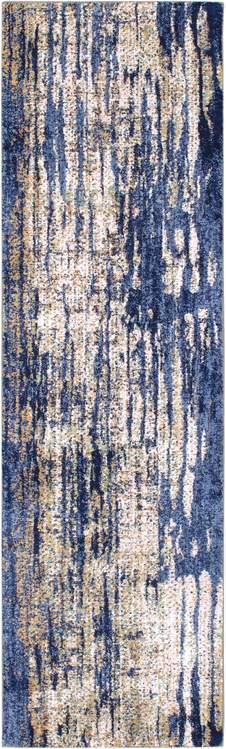 Karastan Cosmopolitan Mineral Bleu Indigo By Patina Vie