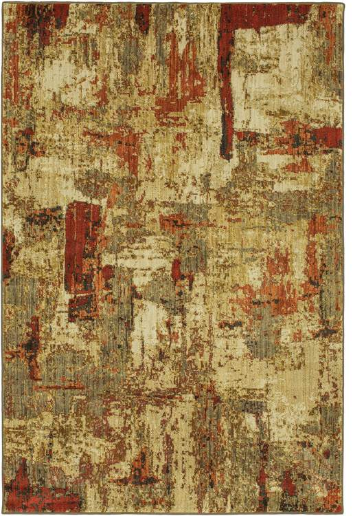 Metropolitan Summit Brown  Pink Area Rug