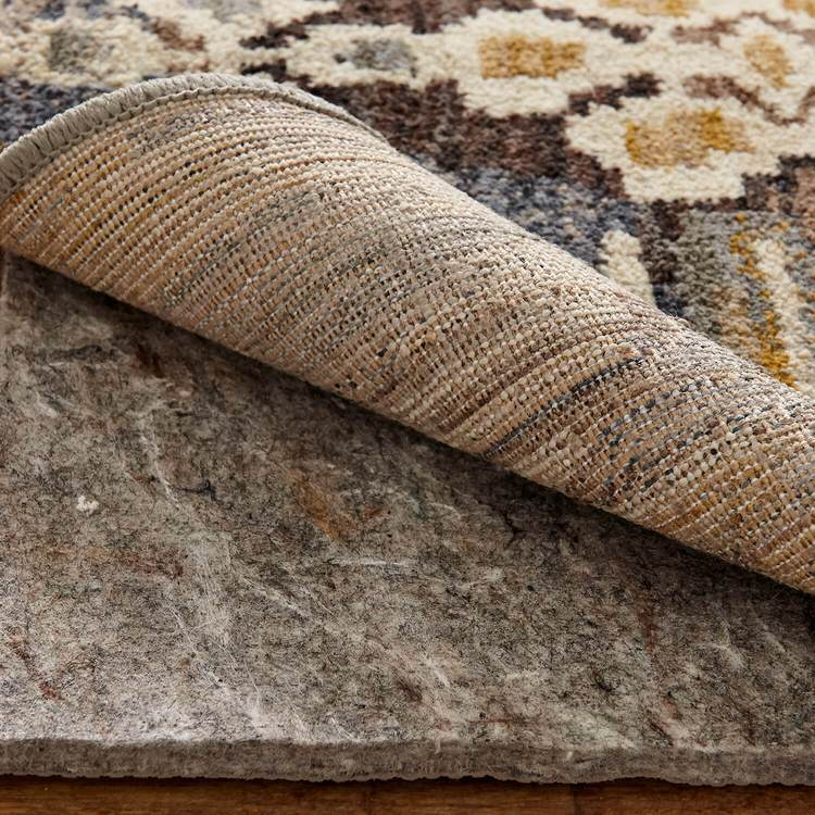Dominica Algol Gray  Brown Area Rug