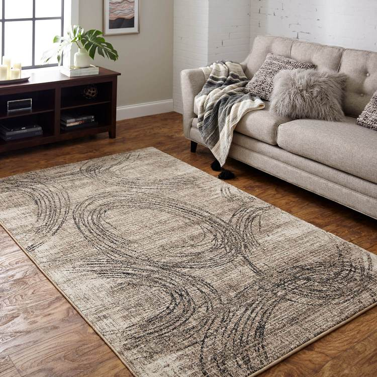 Dominica Ginger Mirage By Virginia Langley Area Rug
