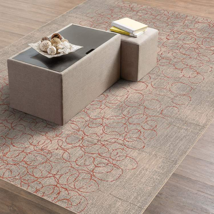 Karastan Cosmopolitan Azure Clay By Virginia Langley