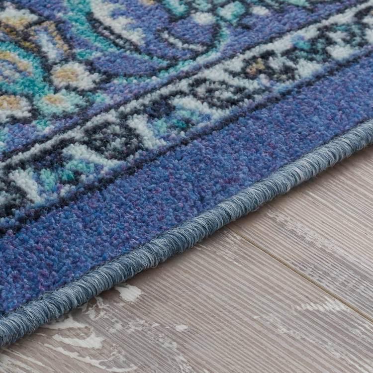 Technicolor Clarita Blue Area Rug