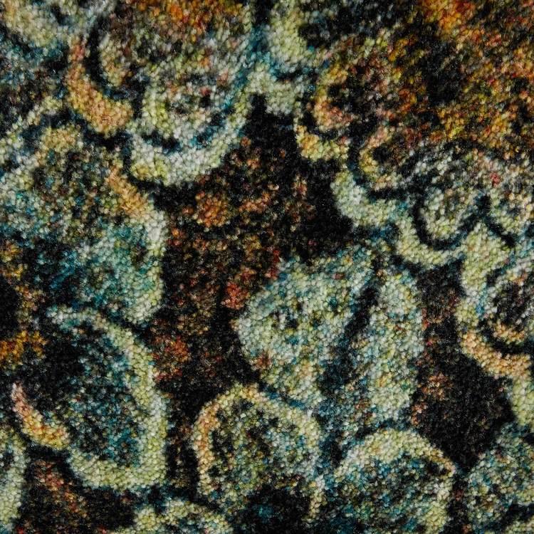 Technicolor Reverie Brown  Gold Area Rug