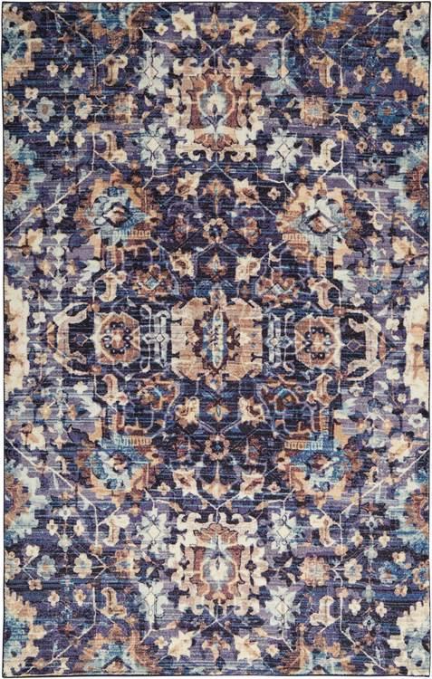 Technicolor Conley Blue Area Rug