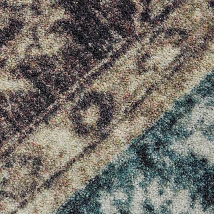 Technicolor Adelanto Gray  Blue Area Rug