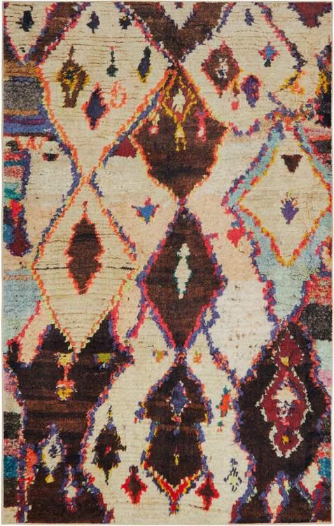 Technicolor Winslow Brown Area Rug