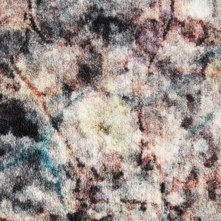 Technicolor Nova Marble Gray Area Rug