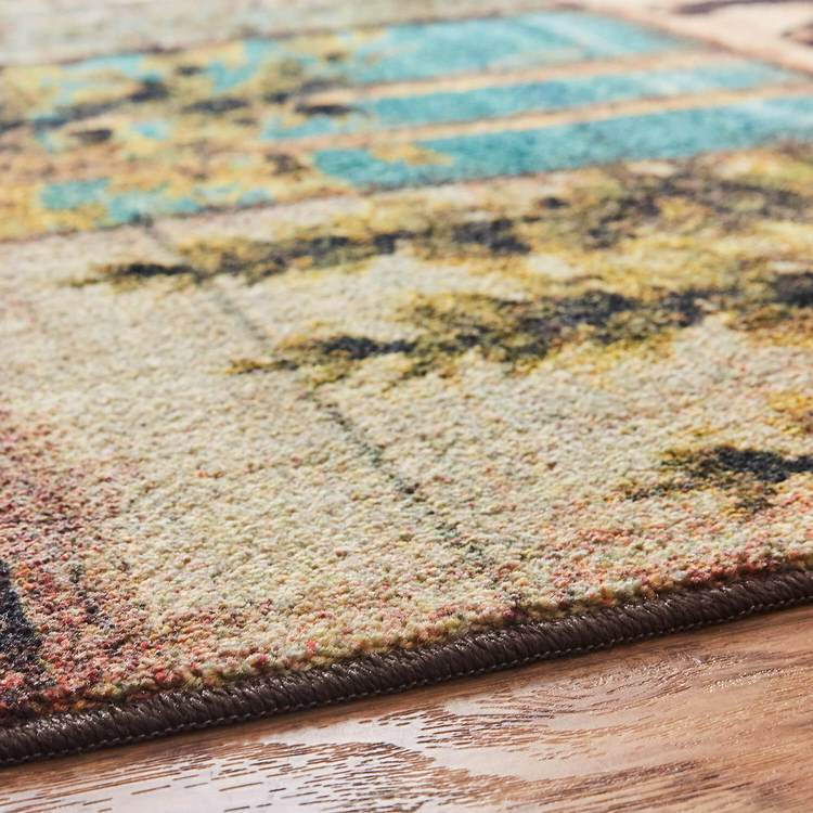 Technicolor Path To Nature Brown Area Rug