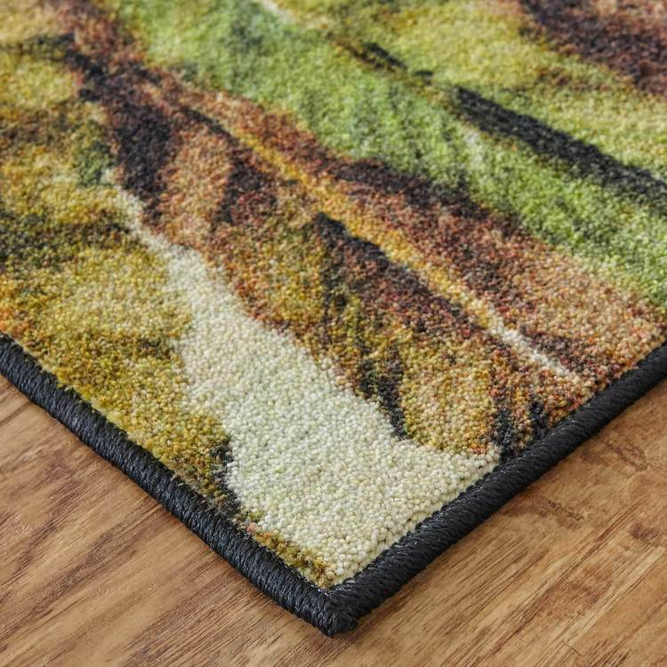 Technicolor Dixon Green Area Rug