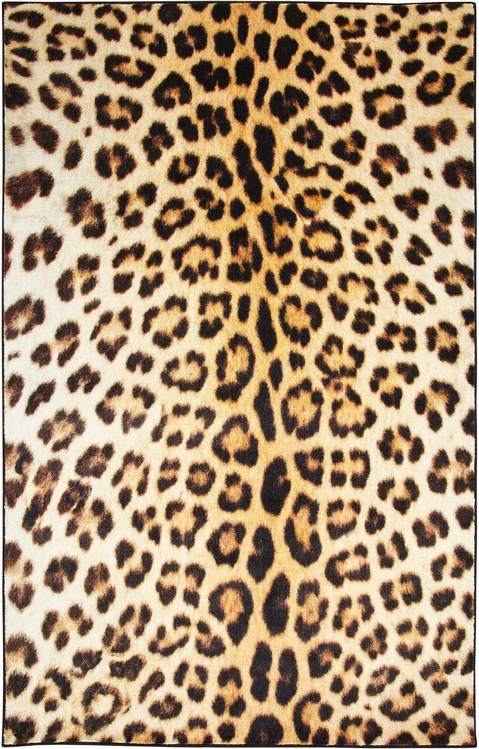 Technicolor Borrego Spots Brown Area Rug