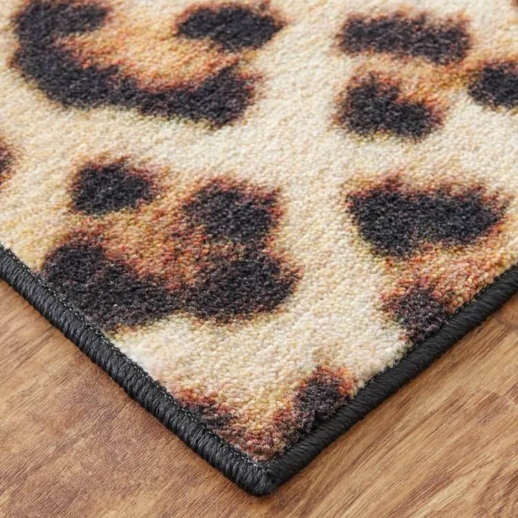 Technicolor Borrego Spots Brown Area Rug