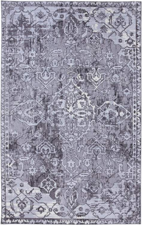 Technicolor Piazza Gray Area Rug