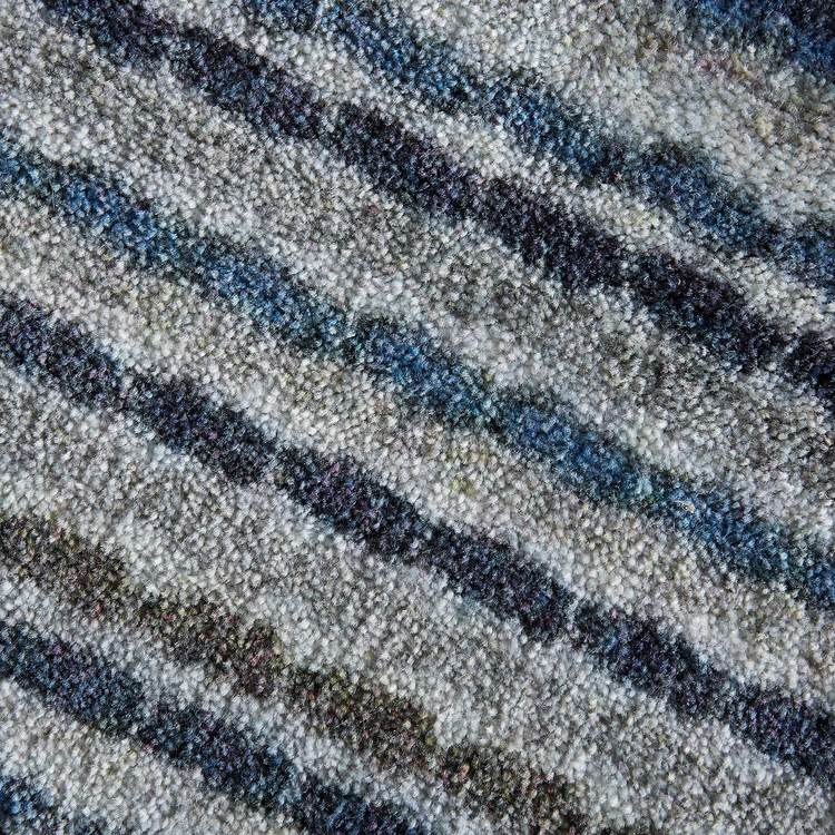 Technicolor Isle Blue  Gray Area Rug